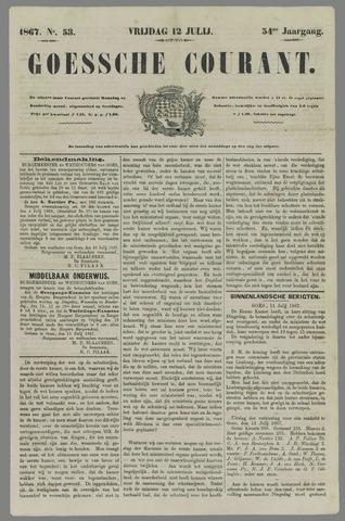 Goessche Courant 1867-07-12