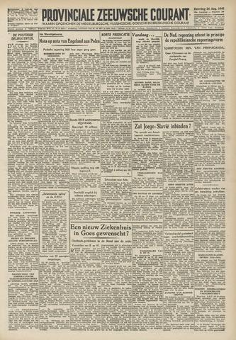 Provinciale Zeeuwse Courant 1946-08-24
