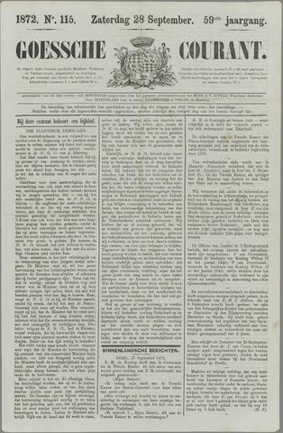 Goessche Courant 1872-09-28