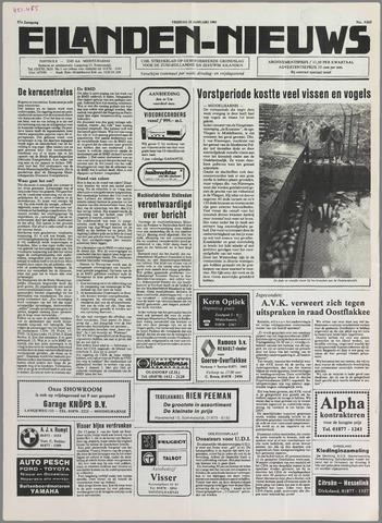 Eilanden-nieuws. Christelijk streekblad op gereformeerde grondslag 1985-01-25