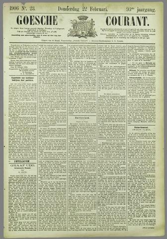 Goessche Courant 1906-02-22