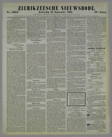 Zierikzeesche Nieuwsbode 1881-09-10