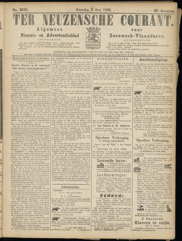 Ter Neuzensche Courant. Algemeen Nieuws- en Advertentieblad voor Zeeuwsch-Vlaanderen / Neuzensche Courant ... (idem) / (Algemeen) nieuws en advertentieblad voor Zeeuwsch-Vlaanderen 1900-06-09