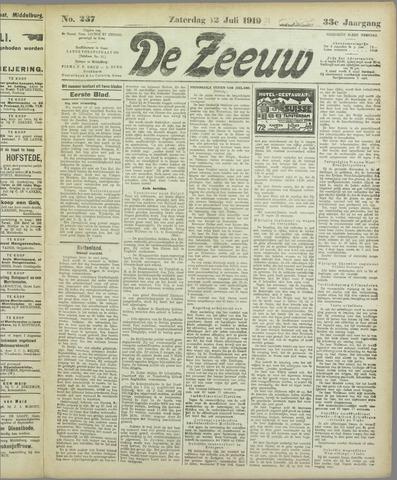 De Zeeuw. Christelijk-historisch nieuwsblad voor Zeeland 1919-07-12