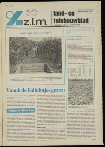 Zeeuwsch landbouwblad ... ZLM land- en tuinbouwblad 1982-08-27