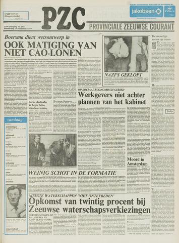 Provinciale Zeeuwse Courant 1977-11-17