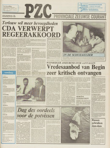 Provinciale Zeeuwse Courant 1981-07-23