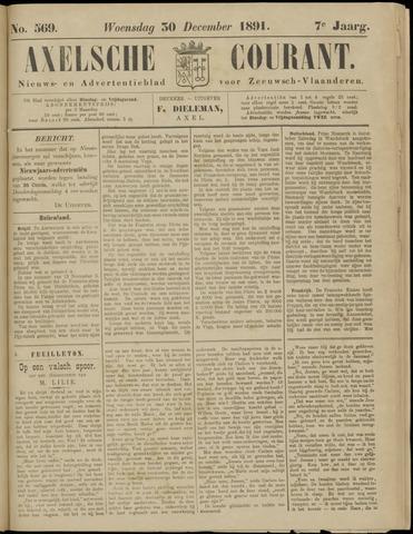 Axelsche Courant 1891-12-30