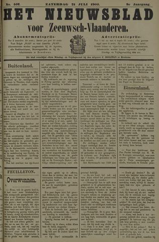Nieuwsblad voor Zeeuwsch-Vlaanderen 1900-07-21