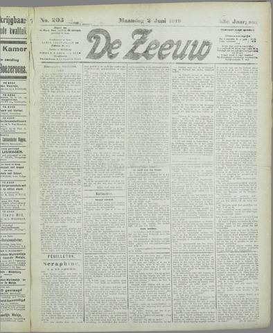 De Zeeuw. Christelijk-historisch nieuwsblad voor Zeeland 1919-06-02