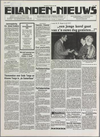 Eilanden-nieuws. Christelijk streekblad op gereformeerde grondslag 1985-02-05
