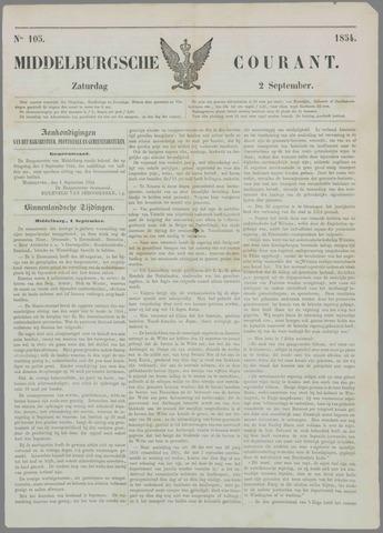 Middelburgsche Courant 1854-09-02