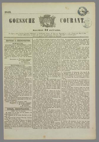 Goessche Courant 1853-01-24