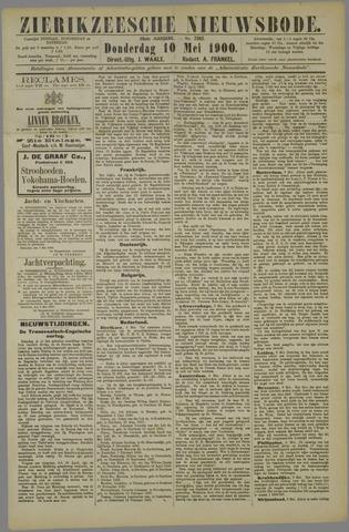 Zierikzeesche Nieuwsbode 1900-05-10