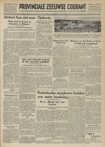 Provinciale Zeeuwse Courant 1950-04-11