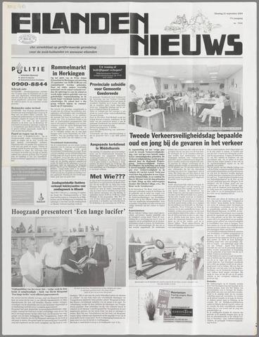 Eilanden-nieuws. Christelijk streekblad op gereformeerde grondslag 2004-09-21