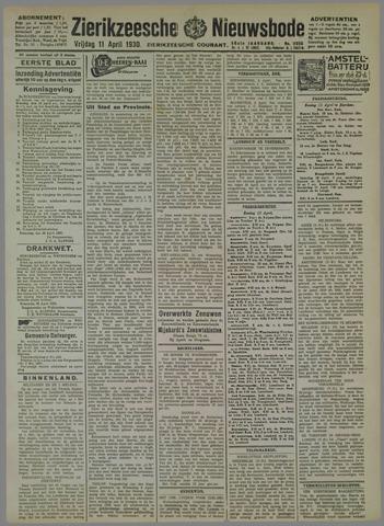 Zierikzeesche Nieuwsbode 1930-04-11