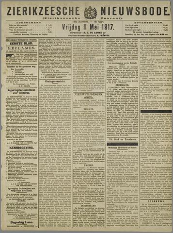 Zierikzeesche Nieuwsbode 1917-05-11