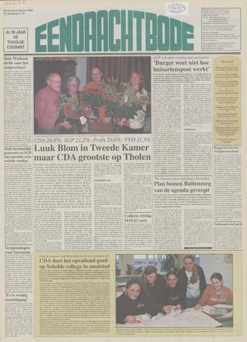 Eendrachtbode (1945-heden)/Mededeelingenblad voor het eiland Tholen (1944/45) 2003-01-23