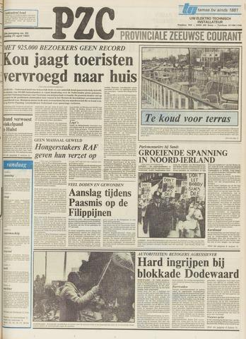 Provinciale Zeeuwse Courant 1981-04-21