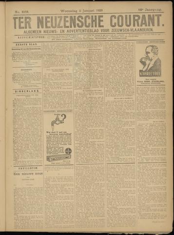 Ter Neuzensche Courant. Algemeen Nieuws- en Advertentieblad voor Zeeuwsch-Vlaanderen / Neuzensche Courant ... (idem) / (Algemeen) nieuws en advertentieblad voor Zeeuwsch-Vlaanderen 1928-01-11