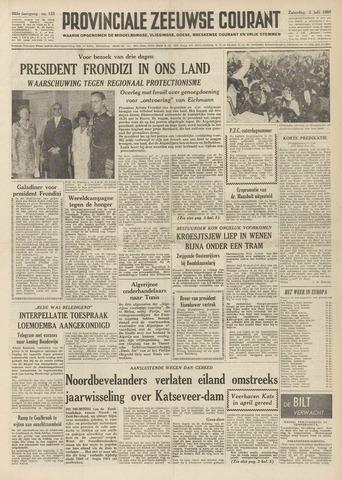 Provinciale Zeeuwse Courant 1960-07-02