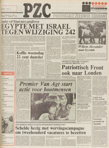 Provinciale Zeeuwse Courant 1979-08-21