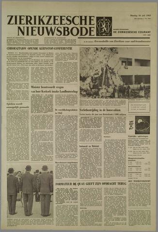Zierikzeesche Nieuwsbode 1963-07-16