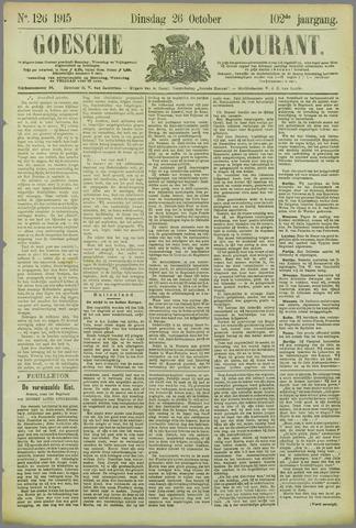 Goessche Courant 1915-10-26