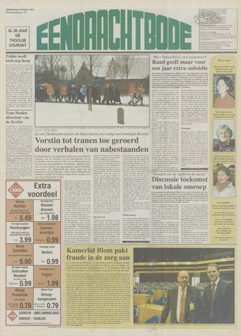 Eendrachtbode (1945-heden)/Mededeelingenblad voor het eiland Tholen (1944/45) 2003-02-06