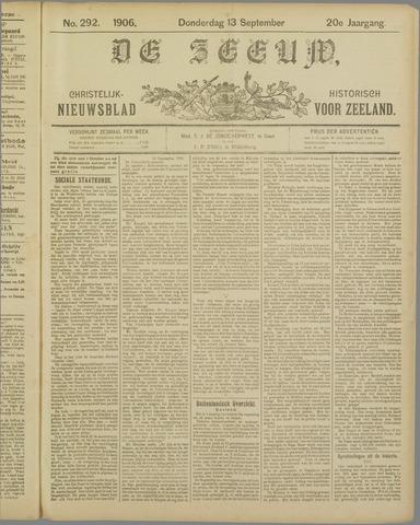 De Zeeuw. Christelijk-historisch nieuwsblad voor Zeeland 1906-09-13
