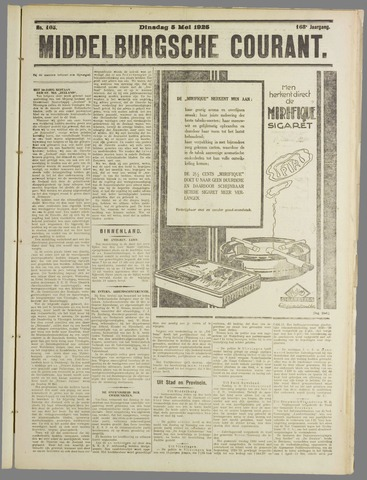Middelburgsche Courant 1925-05-05