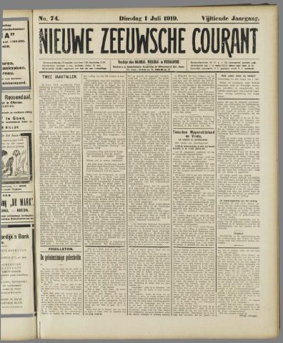 Nieuwe Zeeuwsche Courant 1919-07-01