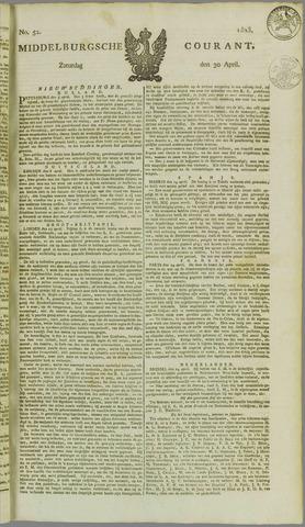 Middelburgsche Courant 1825-04-30