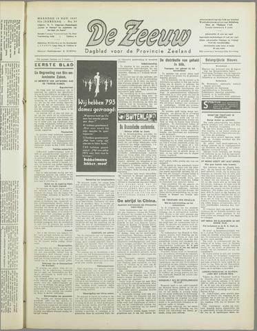 De Zeeuw. Christelijk-historisch nieuwsblad voor Zeeland 1937-11-15