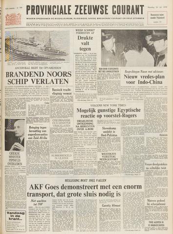 Provinciale Zeeuwse Courant 1970-07-20
