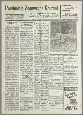 Provinciale Zeeuwse Courant 1940-11-30