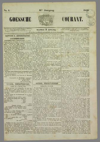 Goessche Courant 1854