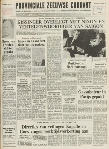 Provinciale Zeeuwse Courant 1972-11-27
