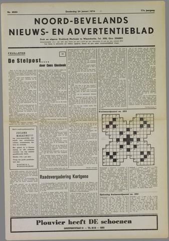 Noord-Bevelands Nieuws- en advertentieblad 1974-01-24