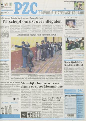 Provinciale Zeeuwse Courant 2002-05-27