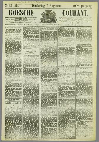 Goessche Courant 1913-08-07