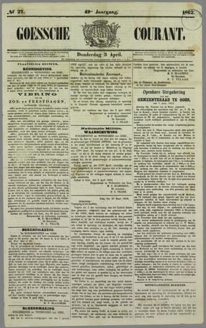 Goessche Courant 1862-04-03