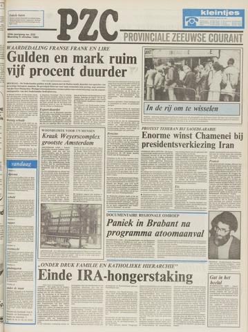 Provinciale Zeeuwse Courant 1981-10-05
