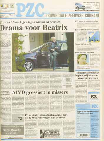 Provinciale Zeeuwse Courant 2003-10-11