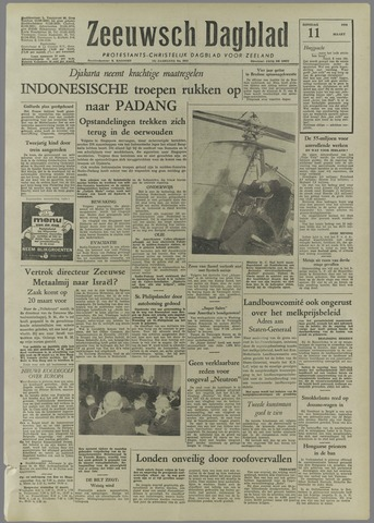 Zeeuwsch Dagblad 1958-03-11