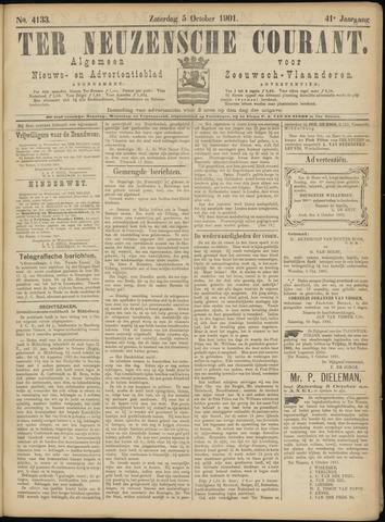 Ter Neuzensche Courant. Algemeen Nieuws- en Advertentieblad voor Zeeuwsch-Vlaanderen / Neuzensche Courant ... (idem) / (Algemeen) nieuws en advertentieblad voor Zeeuwsch-Vlaanderen 1901-10-05