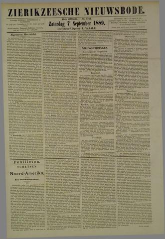 Zierikzeesche Nieuwsbode 1889-09-07