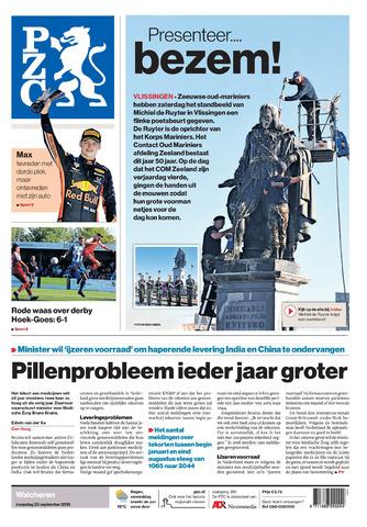 Provinciale Zeeuwse Courant 2019-09-23