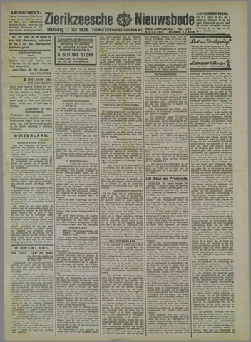 Zierikzeesche Nieuwsbode 1934-12-17